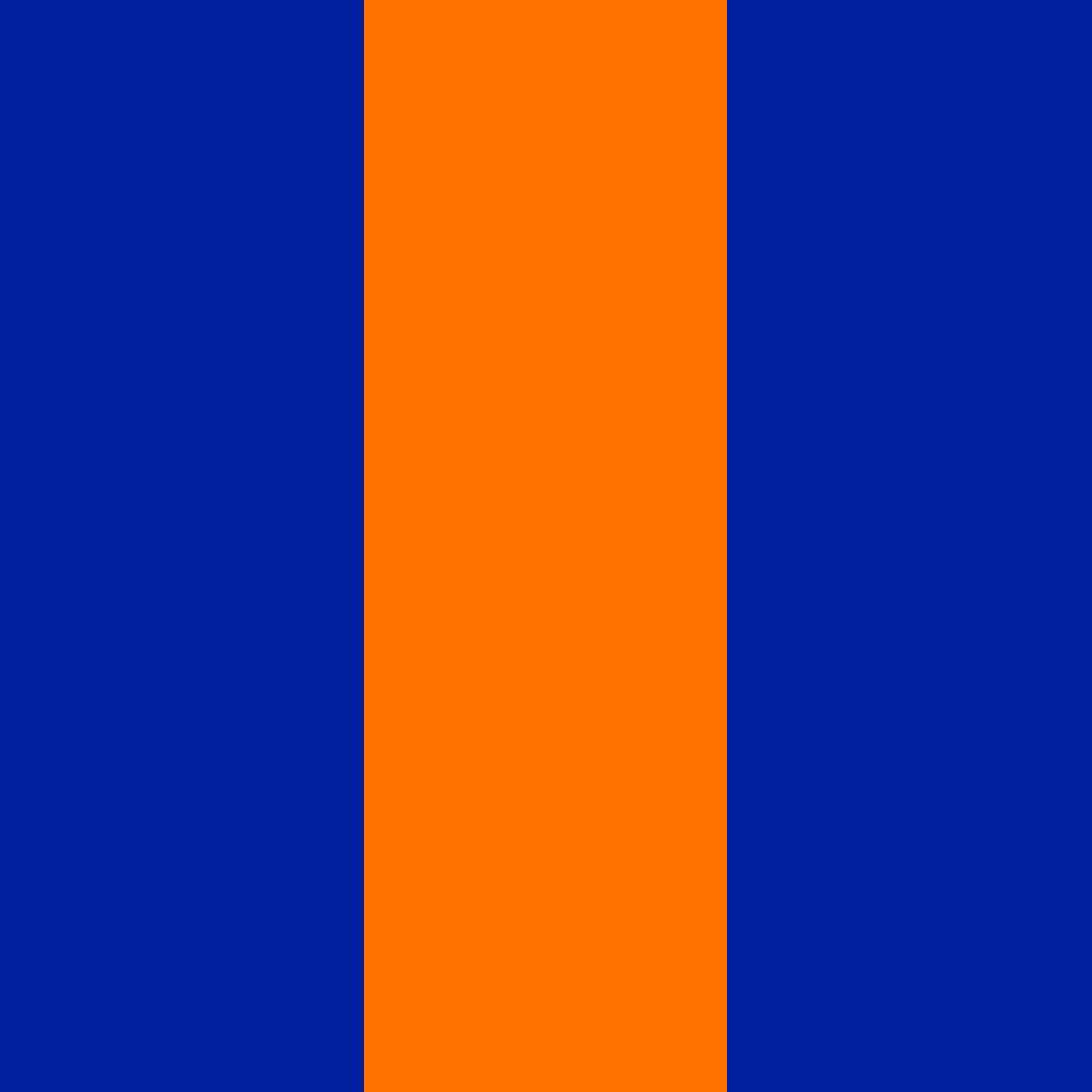 blau-orange-blau
