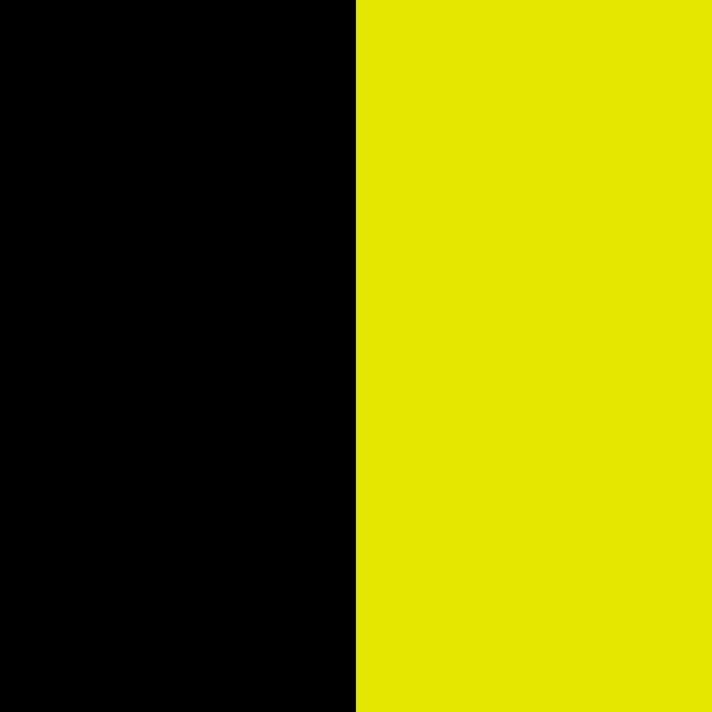 schwarz-neongelb