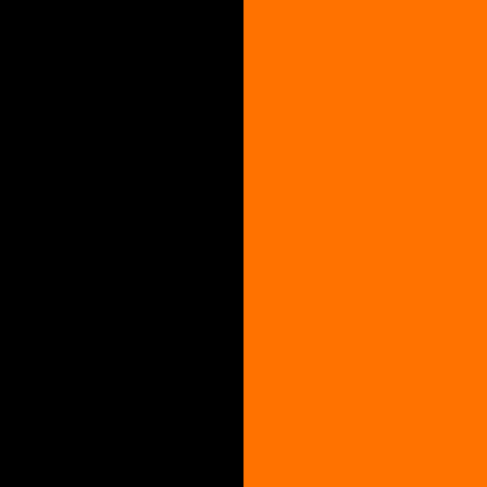 schwarz-orange