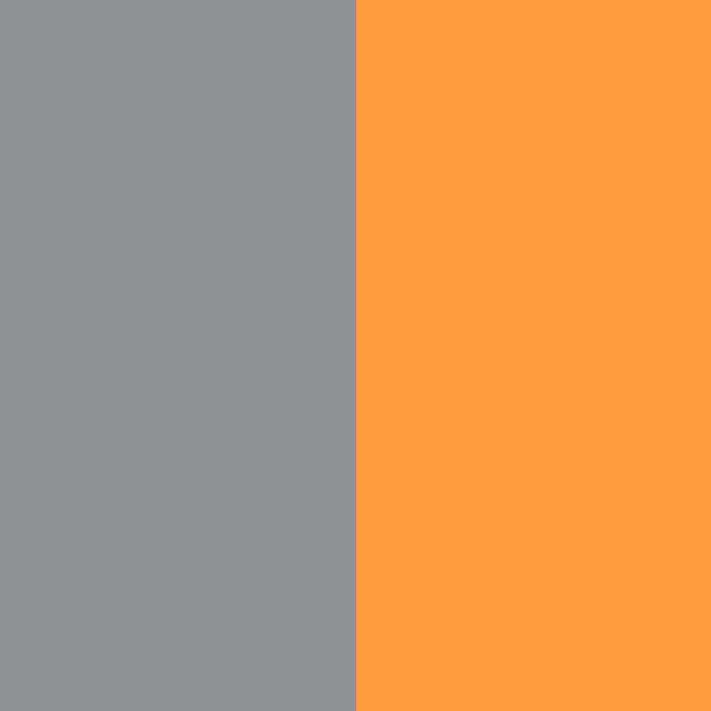 grau-neonorange