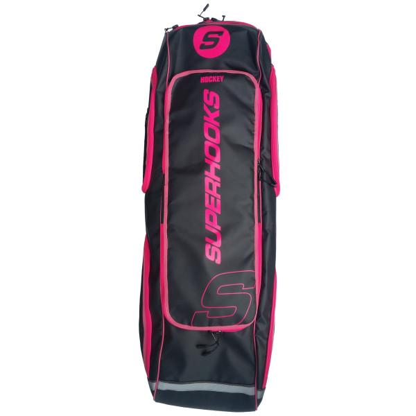 SB1 Deluxe Schlägertasche schwarz-neonpink
