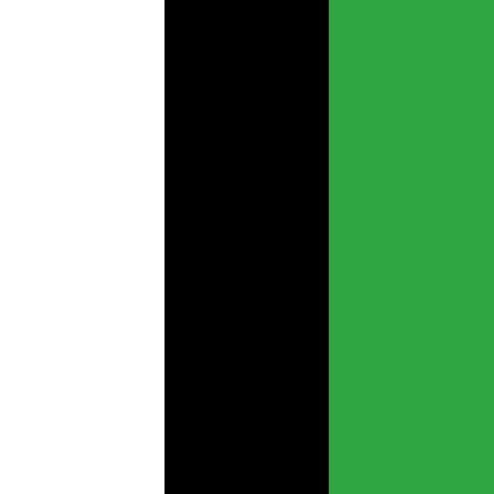 weiss-schwarz-grün