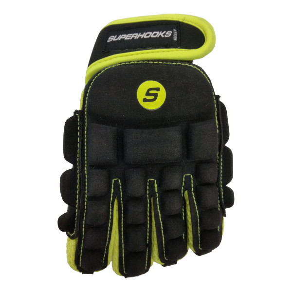 MEGA Glove schwarz-neongelb