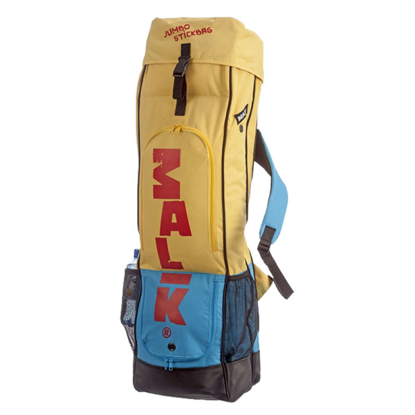 Jumbo Stick Bag (14/16) gelb-blau