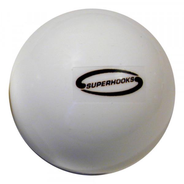 Superhooks Ball glatt weiss