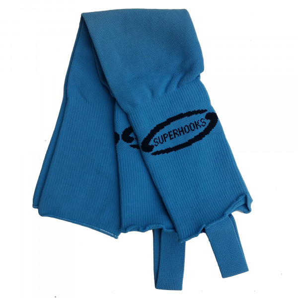 Stutzen hellblau-navy