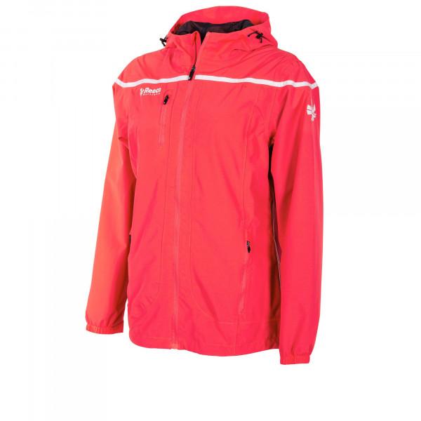 Varsity Atmungsaktive Jacke Damen rot