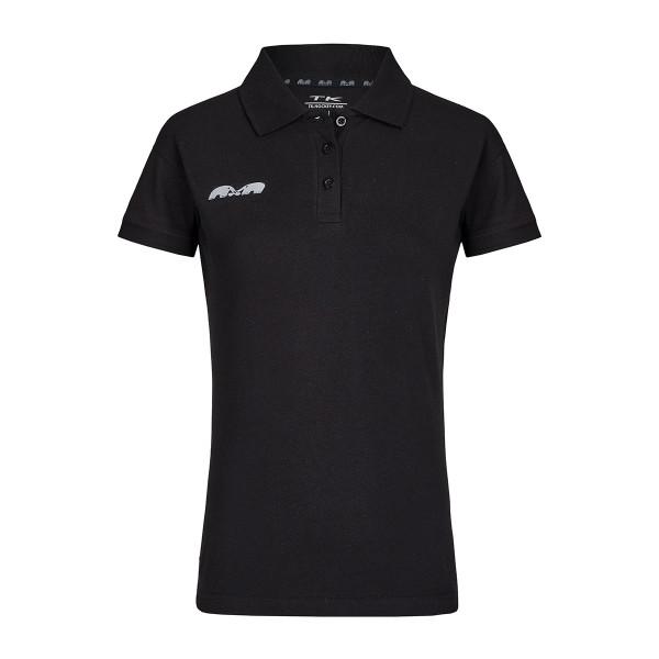 Team Polo Damen schwarz
