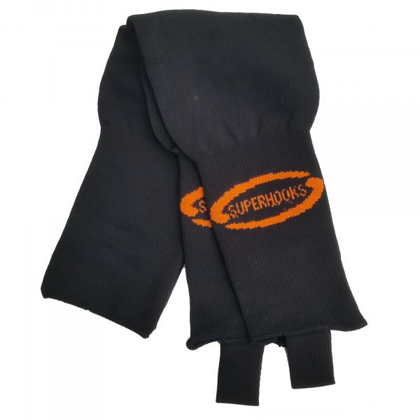 Stutzen schwarz/orange