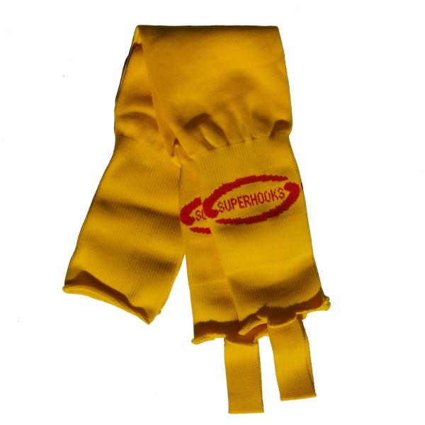 Stutzen gelb/rot