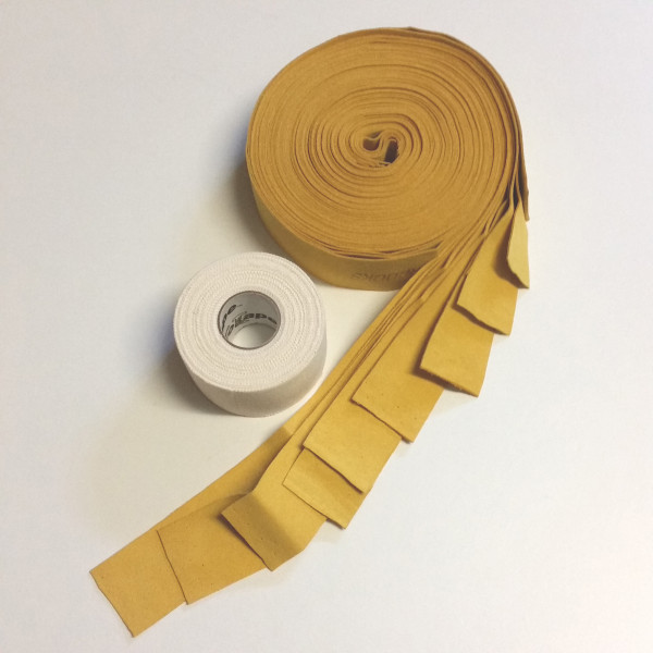 Superhooks Chamois Paket-Deal, gelb