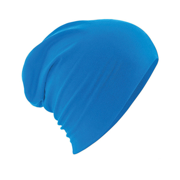 Lümmelmütze aus Baumwolle saphir blau