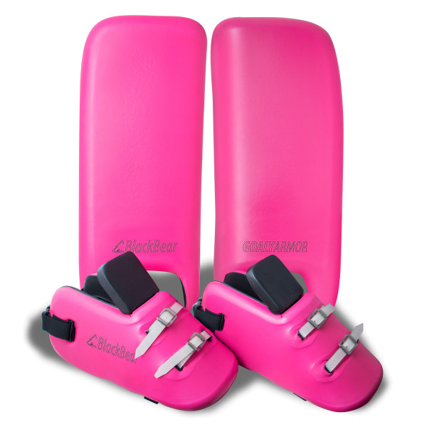 RACOON Legguards & Kicker Set pink
