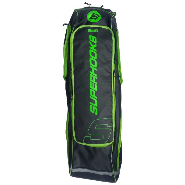 SB1 Deluxe Schlägertasche schwarz-neongrün