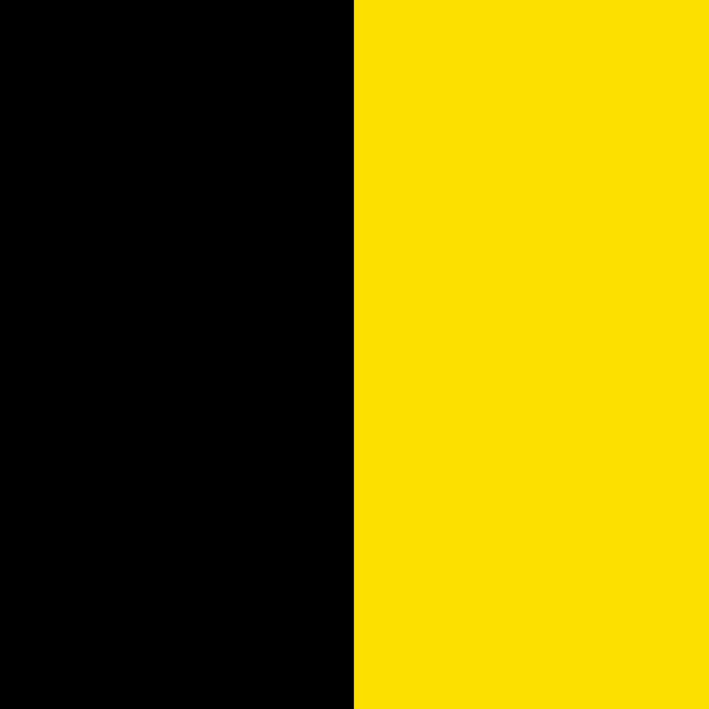 schwarz-gelb