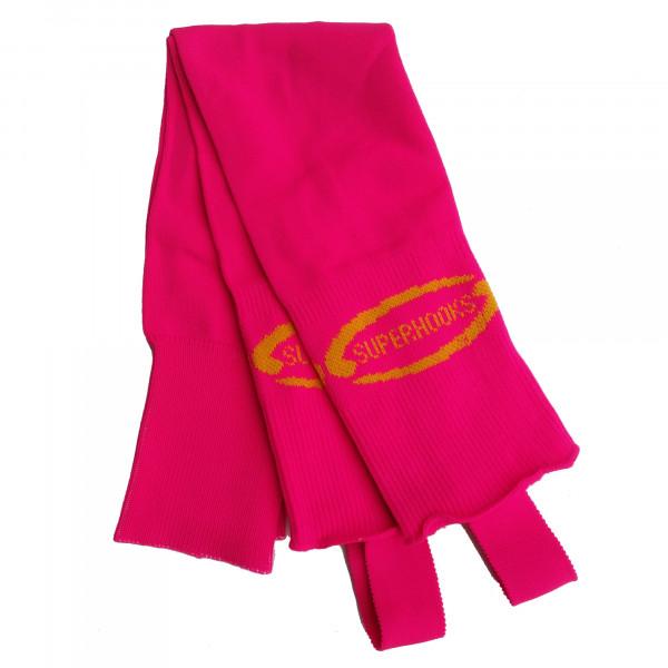 Stutzen pink/gelb