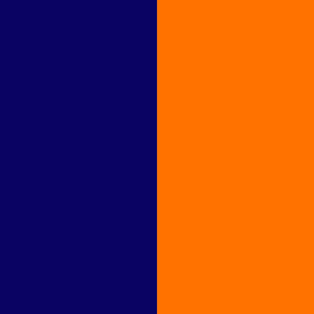 navy blau-orange